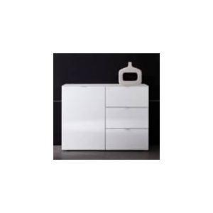 Commode Prima 1 porte et 3 tiroirs