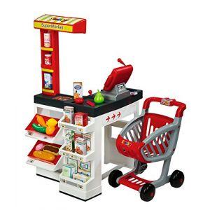 Ecoiffier Supermarché avec chariot