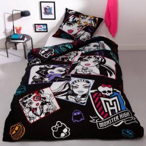 Parure de lit housse de couette Monster High (140 x 200 cm)