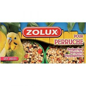 Zolux Godets Miel Perruches x2