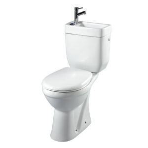 Planetebain Pack WC surélevé sortie horizontale avec lave mains intégré