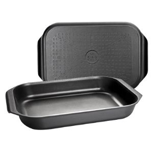 Ibili 401534 - Plat à four / grill Duo (26 x 40 cm)
