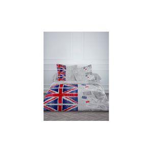 Today London Used - Housse de couette et 2 taies (220 x 240 cm)