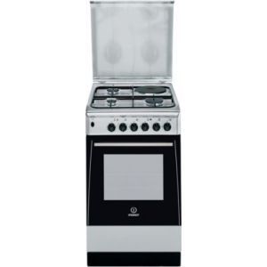 Indesit ei5mscagx fr cuisini re mixte 3 br leurs gaz avec four lectrique - Comparateur de prix gaz ...