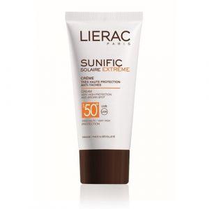 Lierac Sunific Solaire Extrême - Crème solaire anti-taches SPF50+