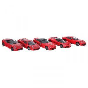 Bburago Pack 5 voitures Ferrari 1/43 eme