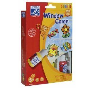 Lefranc & bourgeois Kit Window Color Classic Education (4 x 35 ml)