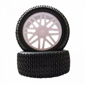 MonsterTronic 66042 - 2 roues arrière buggy 1/10 - 85x42 mm - 12 mm