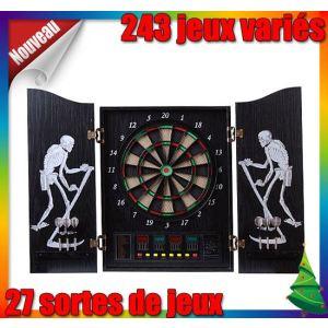 achat homcom jeu de fl chettes armoire lectronique professionnel 243 jeux. Black Bedroom Furniture Sets. Home Design Ideas