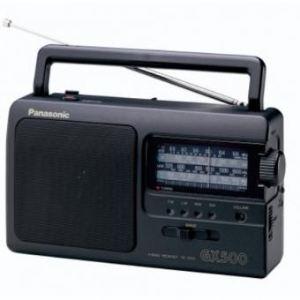 Panasonic RF-3500E-K - Poste radio portable avec poignée