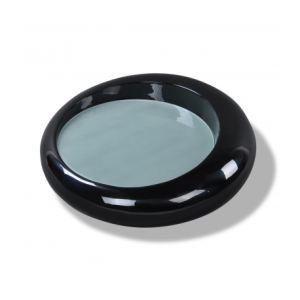 VidaXL Table basse/ table de café ronde en fibre de verre