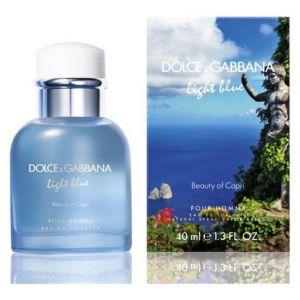 Dolce & Gabbana Light Blue : Beauty of Capri - Eau de toilette pour homme