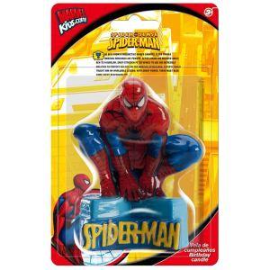 Bougie Spider-Man (9 cm)