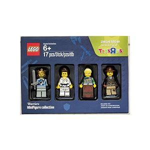 Lego Coffret de 4 figurines Collector Les guerriers