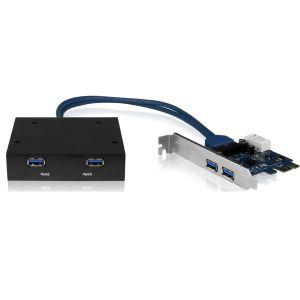 Icy box IB-AC614 - Carte PCI-Express USB 3.0 4 ports 5Gbit/s