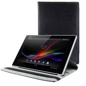 Kwmobile 14009 - Housse en cuir 360° Premium avec fonction support pour Sony Xperia Tablet Z