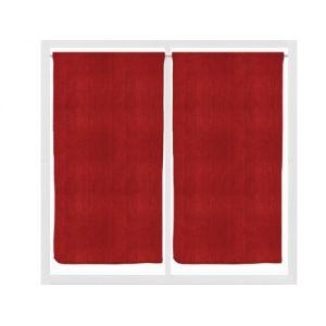 Rideaux rouge et vert comparer 171 offres for Rideaux cuisine 45 x 90