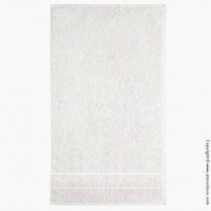 Serviette de bain Plain Ice en coton éponge (50 x 100 cm)