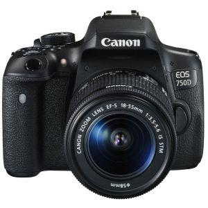 Canon EOS 750D (avec objectif 18-55mm)