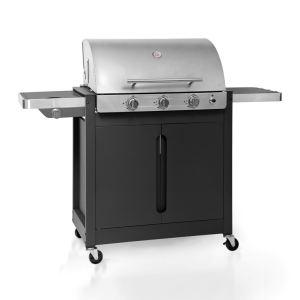 Barbecook 223.9942.000 Brahma 4.2 Inox - Barbecue à gaz 3 brûleurs