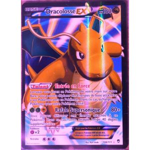 Asmodée Dracolosse-Ex - Carte Pokémon 108/111 Ultra Rare Full Art