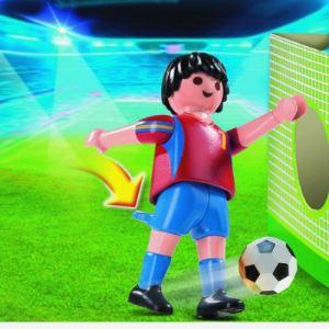 Playmobil 4730 - Joueur équipe Espagne