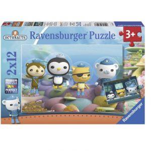 Ravensburger Puzzle 2 x 12 pièces : Les octonautes dans l'octocapsule