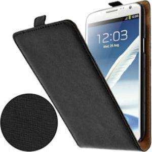Swiss Charger SCP10041 - Étui à clapet en cuir pour Samsung Galaxy Note 2
