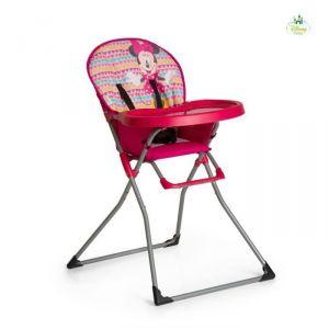 Hauck Mac Baby Minnie Geo pink - Chaise haute bébé