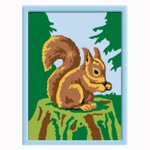 Ravensburger Numéro d'Art mini format : Écureuil gourmand