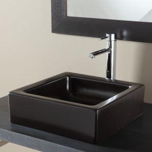 lavabo ceramique noir comparer 131 offres. Black Bedroom Furniture Sets. Home Design Ideas