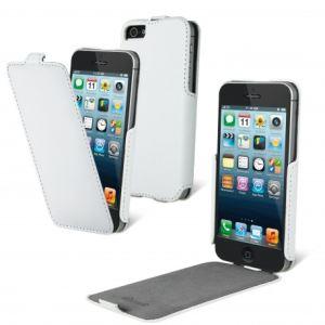 Muvit MUVMUSSL0041 - Housse de protection à clapet pour iPhone 5