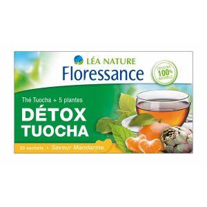 Floressance Détox Tuocha - Thé saveur mandarine