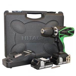 Hitachi DV18DSFL - Perceuse à percussion sans fil 18V