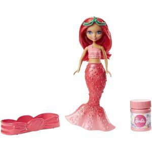 Mattel Barbie petite Sirène à bulles Dreamtopia rose