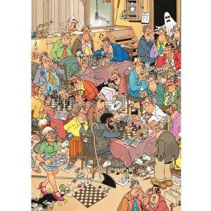 Jumbo Puzzle Club d' échecs 500 pièces