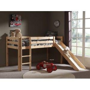 Vipack Furniture Lit Pino avec toboggan pour enfant 90 x 200 cm