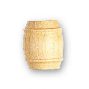 Artesania Tonneau en bois diamètre 12 mm pour maquette en bois