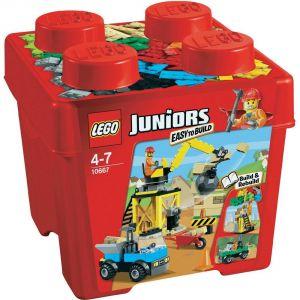 Lego 10667 - Juniors : Le chantier