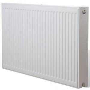 Vidaxl radiateur chauffage central horizontal double 1761 for Prix radiateur chauffage central