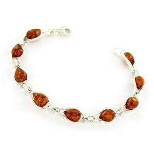 Rêve de diamants BRBA01010 - Bracelet en argent 925/1000 et ambre véritable
