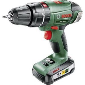 Bosch PSB 18 LI-2 - Perceuse à percussion + Batterie + Mallette