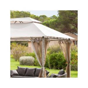Hesperide Toile de toit pour la tonnelle Fogo (3 x 4 m)