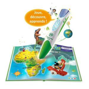 Leapfrog Mon lecteur Leap Vert avec livre et batterie