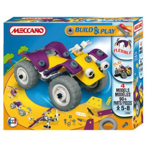Meccano Build and play: Quad 99 pièces
