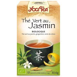 Yogi Tea Thé vert au jasmin - Thé vert Bio au jasmin, gingembre et zeste de citron