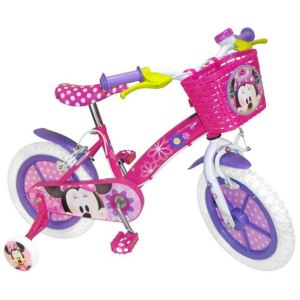 Vélo Minnie Mouse 14""