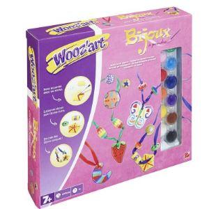 Wooz'art Kit créatif : Bijoux à peindre