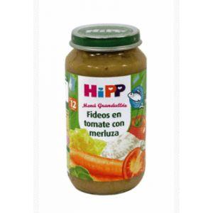 HiPP Biologique Petit pot Nouilles tomates et merlu 250 g - dès 12 mois