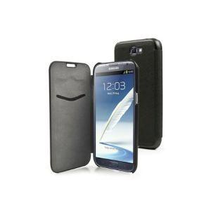 Muvit MUSLI0121 - Étui flip pour Galaxy Note 2 + film protecteur